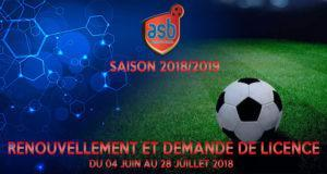 ASB Renouvellement Licence