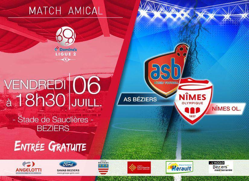MATCHES AMICAUX 2018 - 2019 Affiche-complete-825x600-asb-nimes-amical