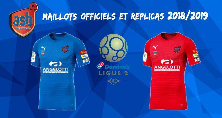 Maillots Officiels AS Béziers saison 2018/2019