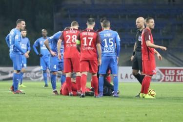 AS Béziers - Grenoble : Ligue 2 - Journée 17 - 04/12/2018