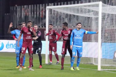 Metz - AS Béziers : Ligue 2 - Journée 25 - 18/02/2019