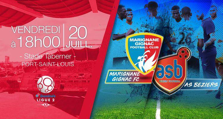 Match Amical : Marignane Gignac FC – AS Béziers